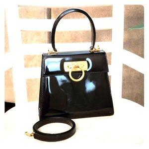 Salvatore Ferragamo 2 Way Patent leather Vintage